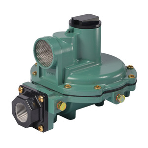 Emerson Fisher Type R652 3/4 in. FNPT Aluminum Second Stage Regulator w/ 9-13 in. w.c. Spring, 1M BTU/HR - Back Mounted