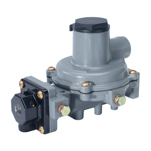 Emerson Fisher Type R232A-BBF 1/4 in. FNPT x 1/2 in. FNPT Aluminum Integral Two Stage Regulator w/ 10.2-13 in. w.c. Spring, 550K BTU/HR