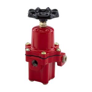 Emerson Fisher 67CH Series 1/4 in. FNPT Aluminum High-Pressure Regulator w/ Handwheel Adjustment - 20 PSI, 750K BTU/HR