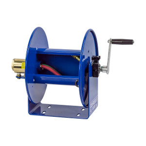Coxreels 100W Series Welding Hand Crank Hose Reel - Reel Only - 1/4 in. x 100 ft.