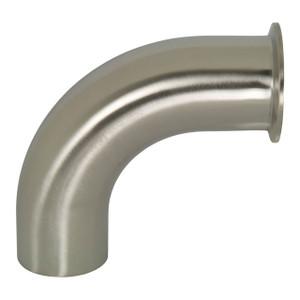 Dixon Sanitary B2CM Series Polished 316SS 90° Clamp x Weld Elbows