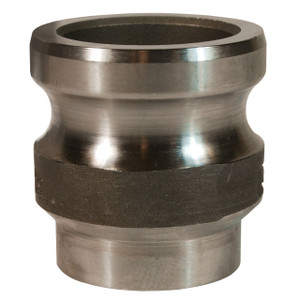 Dixon Sanitary Boss-Lock 316SS Cam & Groove Adapter x Butt Weld to Tube End