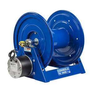 Coxreels 1125E Series Power Rewind 12v DC Hose Reel - Reel Only - 1 in. x 100 ft.