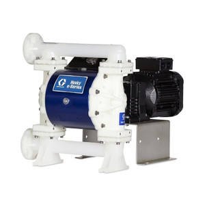 Husky 1050e 1 in. 230VAC Polypropylene Diaphragm Pump w/ Santoprene Seats, Balls & Diaphragms