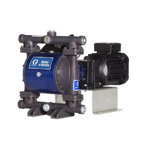 Husky 1050e 1 in. 240VAC Aluminum Diaphragm Pump w/ SS Seats, PTFE Balls & PTFE/Santo Diaphragm & Backer - Hazardous Location Pump