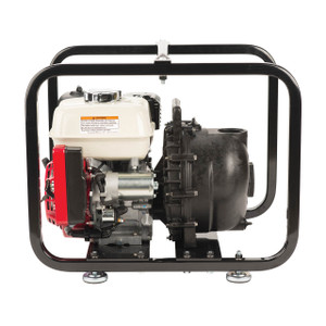 Banjo 2 in. Polypropylene Self-Priming Centrifugal Pump w/ Electric Start & Roll Cage - 5.5 HP, 140 GPM