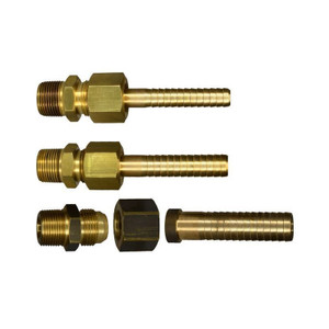 Superklean Brass Mixing Station Adapters 3/4 in. MNPT x Hose Barb