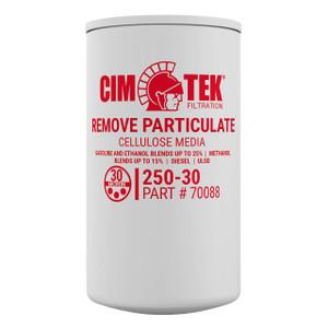 Cim-Tek 70088 250E-30 30 Micron Particulate Fuel Filter