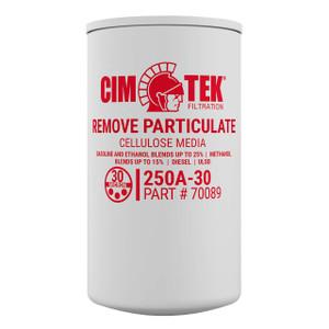 Cim-Tek 70089 250A-30 30 Micron Particulate Fuel Filter