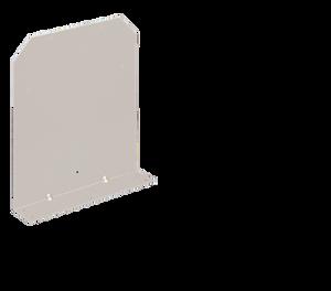 Aluminum Fender Bracket for Mounting Placards
