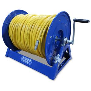 Coxreels 1125 Series Large Capacity Manual Rewind Spray Hose Reel - Reel & Hose - 3/8 in. x 400 ft.