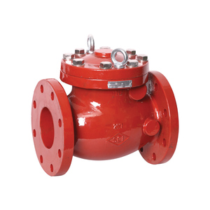 Smith Cooper AWWA Flanged Ductile Iron Swing Check Valve