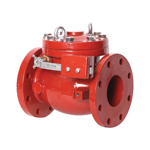 Smith Cooper AWWA Flanged Ductile Iron Swing Check Valve w/ Lever & Weight
