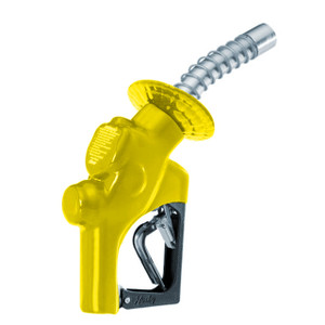 Husky VIII Series 1 in. High-Flow Diesel Truck Nozzle w/o Hold Open Clip - UL (Yellow)