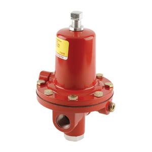 Emerson Fisher 64SR Series 1/2 in. FNPT Aluminum High-Pressure Regulator w/ Internal Relief Valve - 10 PSI, 2.625M BTU/HR