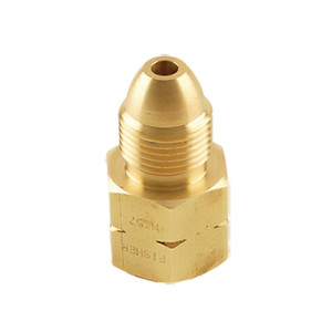 Emerson Fisher Single Piece Male POL x 1/2 in. Female NPT Adapter