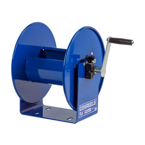 Coxreels 112Y Series Compact Hand Crank Hose Reel - Reel Only - 3/8 in. x 150 ft., 1/2 in. x 75 ft.