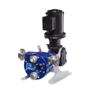 Graco SoloTech 10 Positive Displacement Hose Pump w/ Brushless DC Motor & 316 SS Hose Barb - 2/3 GPM