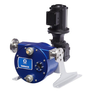 Graco SoloTech 23 Positive Displacement Hose Pump w/ Brushless DC Motor & 316 SS Hose Barb - 4.7 GPM