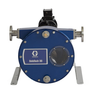 Graco SoloTech 30 Positive Displacement Hose Pump w/ Brushless DC Motor & 316 SS Hose Barb - 16 GPM