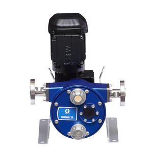 Graco SoloTech 10 Positive Displacement Hose Pump w/ AC Motor & 316 SS Hose Barb - Mid Speed