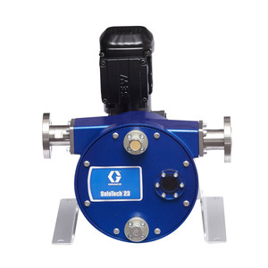 Graco SoloTech 23 Positive Displacement Hose Pump w/ AC Motor & 316 SS Hose Barb - Low Speed