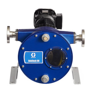 Graco SoloTech 26 Positive Displacement Hose Pump w/ AC Motor & 316 SS Hose Barb - Mid Speed