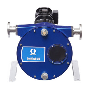 Graco SoloTech 30 Positive Displacement Hose Pump w/ AC Motor & 316 SS Hose Barb - Low Speed