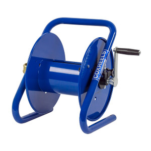 Coxreels CM Series Caddy Mount Portable Hand Crank Hose Reel - Reel Only - 1/2 in. x 225 ft.