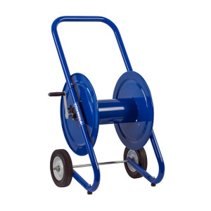 Coxreels DM Series Dolly Mount Portable Hand Crank Hose Reel - Reel Only - 1/2 in. x 225 ft.