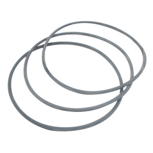 Brodie International Gray O-Ring 3 Pack