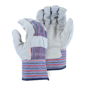 Majestic Leather Palm Work Gloves