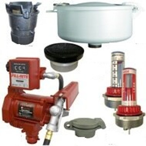 20 GPM Pump & Gas Vent Kit For 550 Gal. x 49 in. Double Wall Skid Tank w/ E-Vents