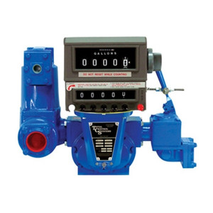 TCS 700SPA Series 2 in. Rotary Positive Displacement Aviation Meter w/ Mechanical Registration