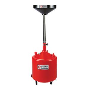 JohnDow 18 Gallon Economy Portable Poly Oil Drain