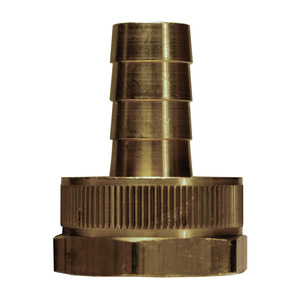 Dixon Standard Brass Female GHT Shank w/ Swivel Nut