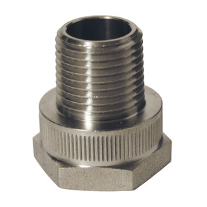 Dixon Stainless Steel Rigid Female GHT x Male NPT Adapter