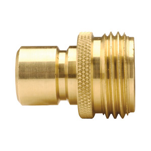 Dixon Brass Garden Hose Quick Connect Male Plug
