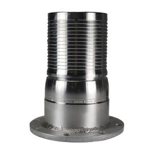Dixon King Crimp Style 4 in. Aluminum Combination Nipple x TTMA Flange