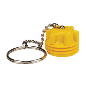 Dixon Plastic Male Acme Plug w/ Dust Seal & Chain Assembly