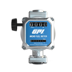 GPI M30 Mechanical Fuel Meter - Gallons