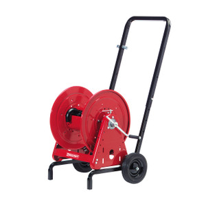 Reelcraft Hand Crank Hose Reel & Cart Package - Reel Only - 1/2 in. x 200 ft.