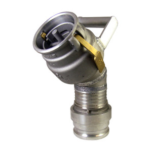 Civacon 633CPP Vapor Recovery Coupler w/ 45° Swivel Male Camlock Inlet & Handle