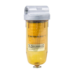 Goldenrod Water Block Filter Assembly 1 in. BSPP Threads