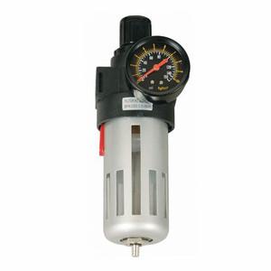 Lubeworks BFR Series 1/4 in. FNPT Air Filter & Regulator w/ Pressure Gauge