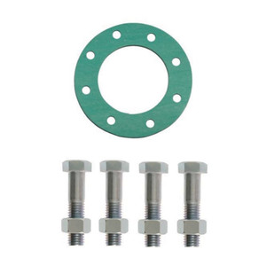 Matco Norca GSNAFF Series 150# Non-Asbestos Fiber Full Face Gasket & Bolt Pack - 1/16 in. Green