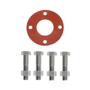 Matco Norca GSFF Series 150# Full Face Rubber Gasket & Bolt Pack - 1/8 in. Red