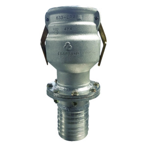 Civacon 633CPP Vapor Recovery Coupler w/ 4 in. TTMA Flange x 4 in. Straight Hose Shank