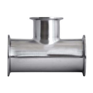JME SS7RMP Series 304 SS Clamp Reducing Tee