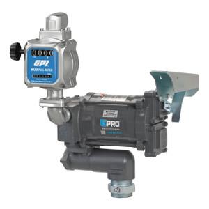 GPI GPRO PRO20-115 Series 115V AC Fuel Transfer Pump w/ M30 Fuel Meter - 20 GPM